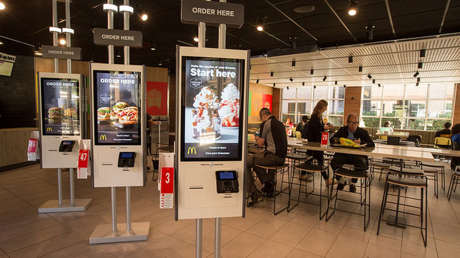 Mcdonalds Kitchen Equipment List The Mcdonald 39s Of The Future Has Table Service And Touch