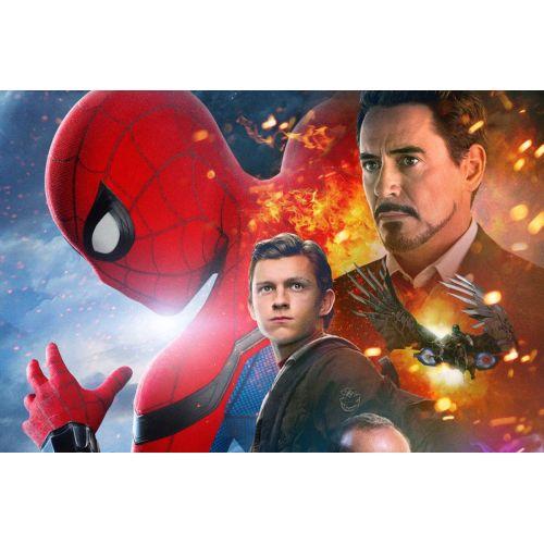 Medium Crop Of Spiderman Homecoming Poster