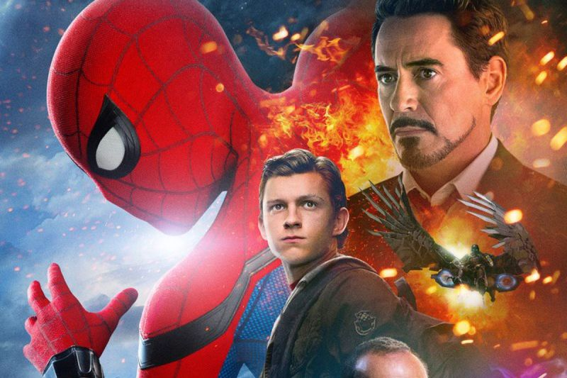 Large Of Spiderman Homecoming Poster