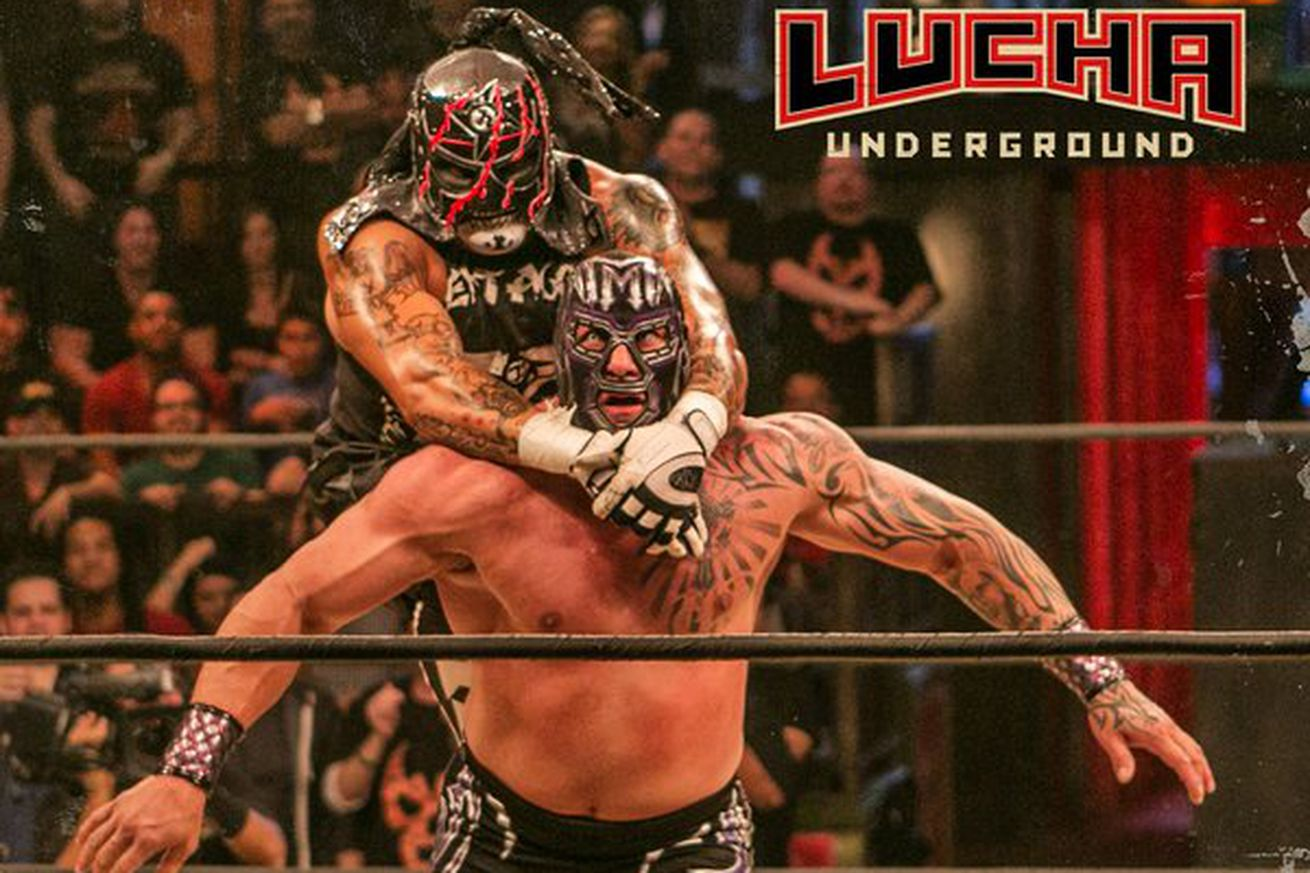 Lucha Libre Rey Misterio Topé 10 Lucha Underground Jan 27 2016 Cageside Seats