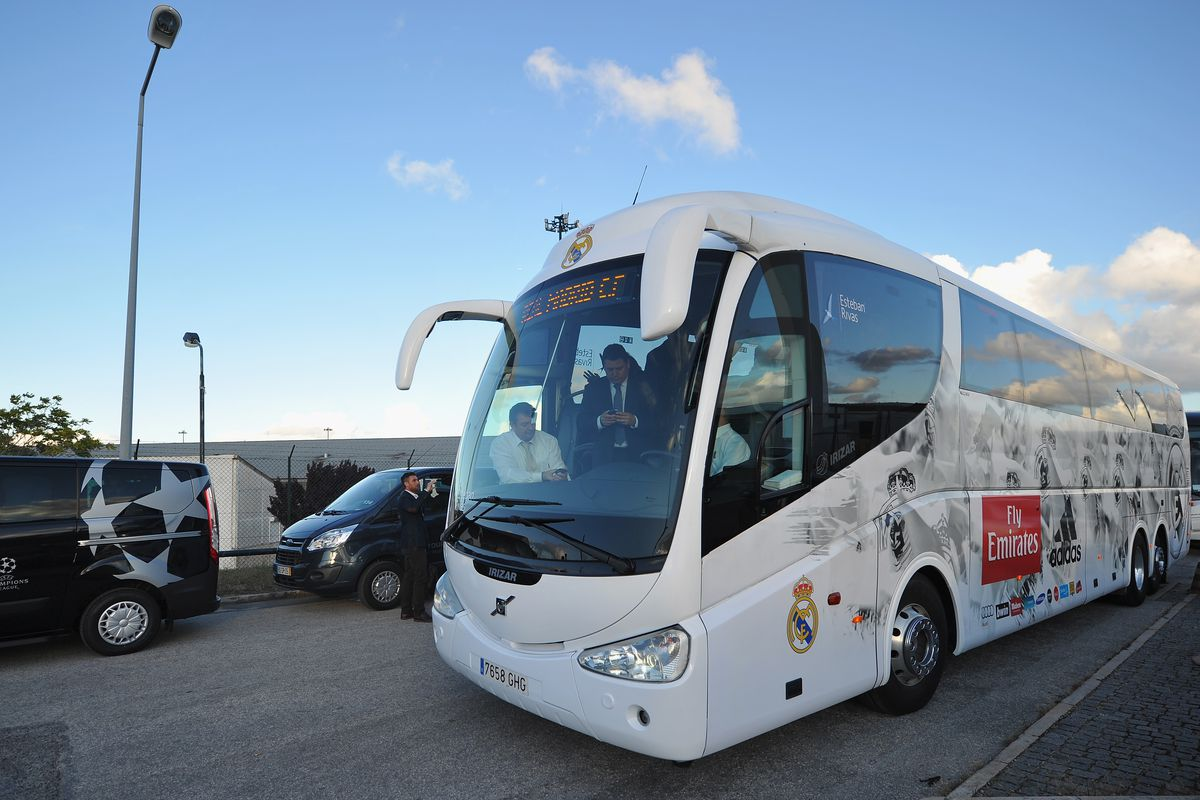 Bus 47 Madrid Real Madrid Wont Drive Their Own Team Bus To Girona