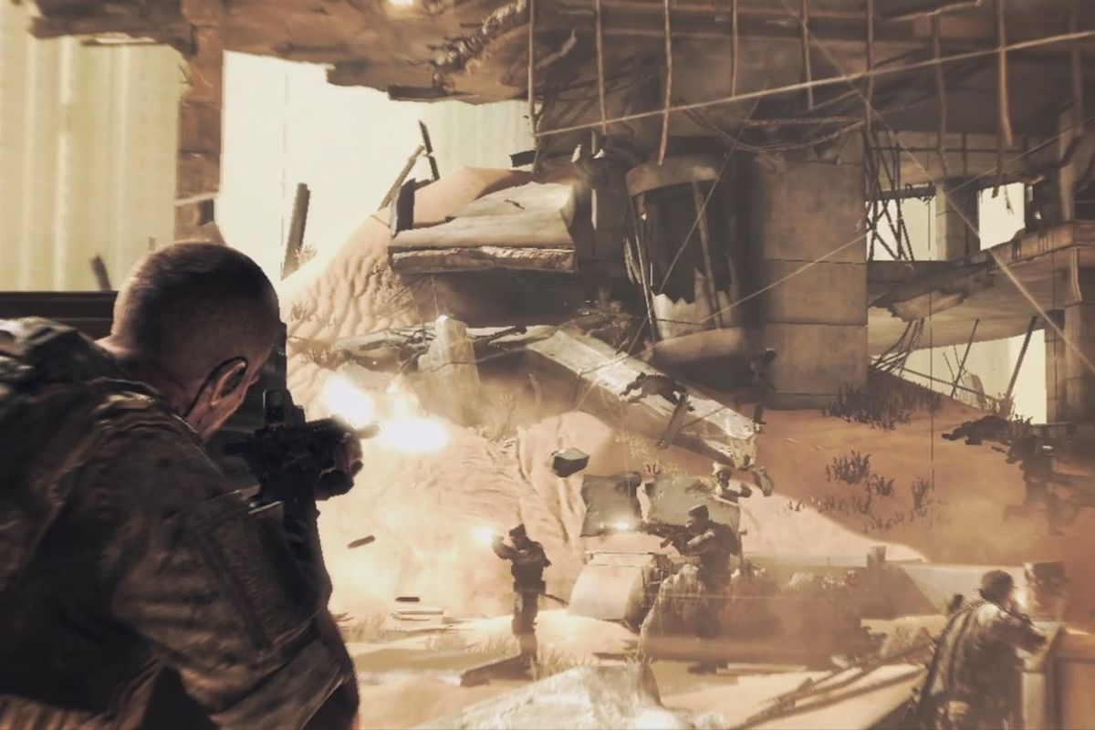 Spec Gaming Spec Ops: The Line Is Free On Humble Bundle - Polygon