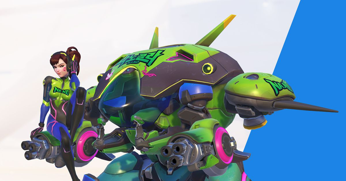 Win 10 Animated Wallpaper Overwatch S New D Va Event Adds Nano Cola Skin New Sprays