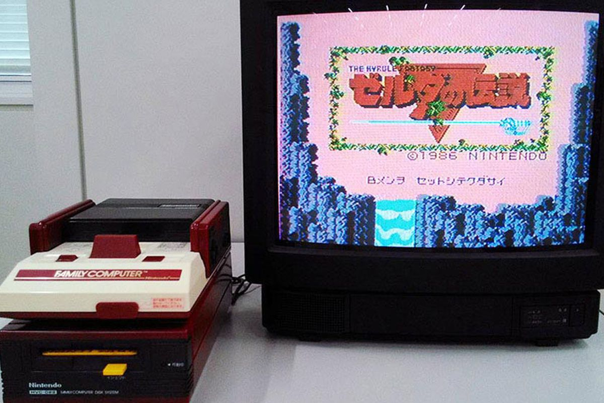 Room Accessories Nintendo Just Unboxed A 30-year-old Famicom - The Verge