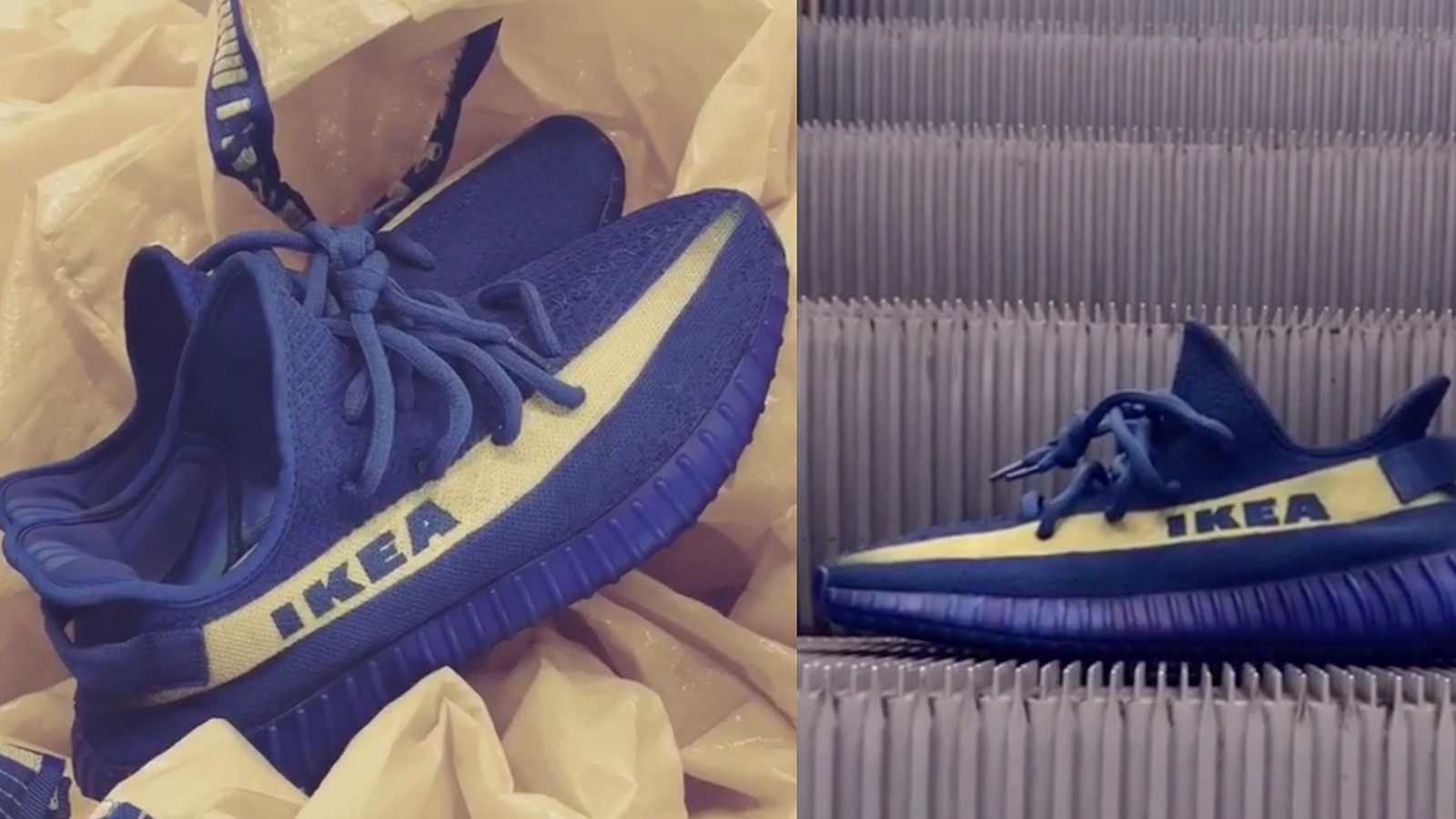 Ikea Utah Ikea-inspired Yeezys Are A Real Thing And I Want A Pair