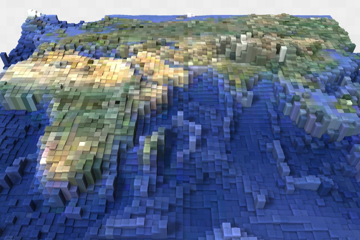 earth map minecraft