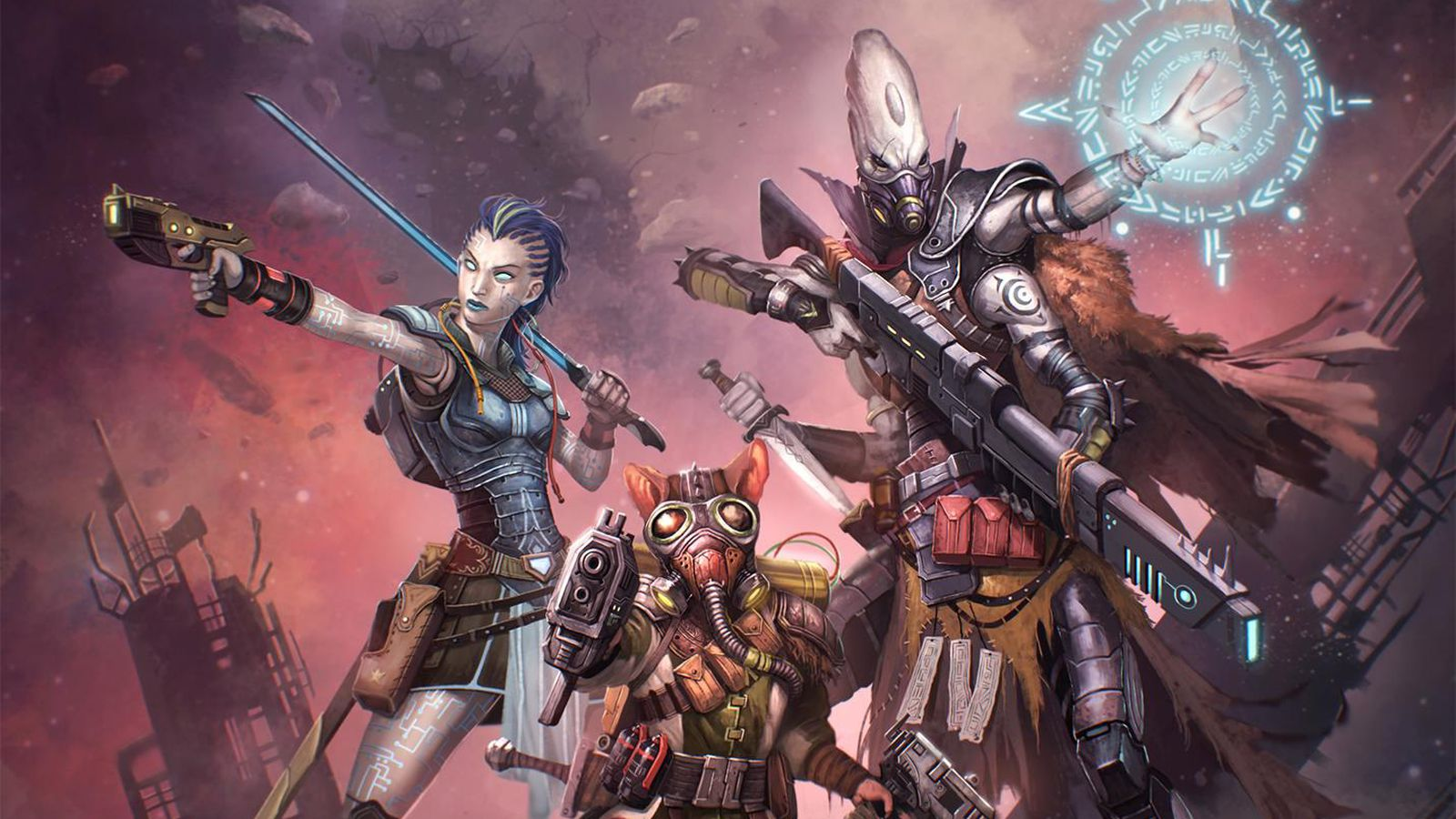 Fight Like A Girl Computer Wallpaper Starfinder Hopes To Do For Space Opera What D Amp D Has Done