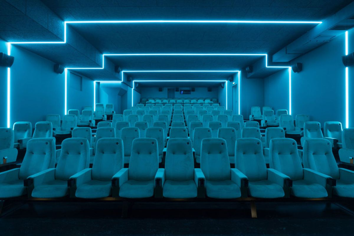 Berlin Interior Design A New Berlin Cinema Where Every Theater Is A Glowing Piece