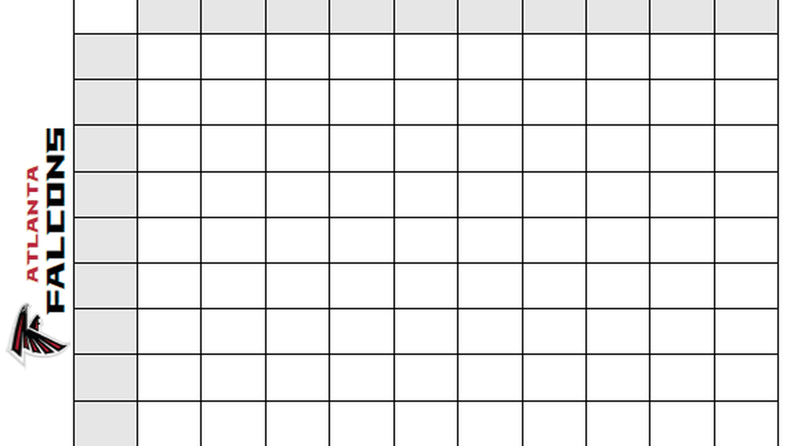 squares football template