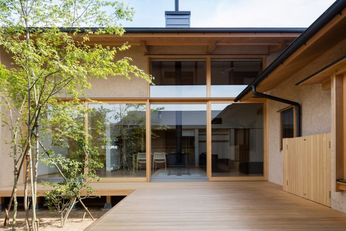 Japan Home Plans Japanese Courtyard House Makes The Case For Simplicity