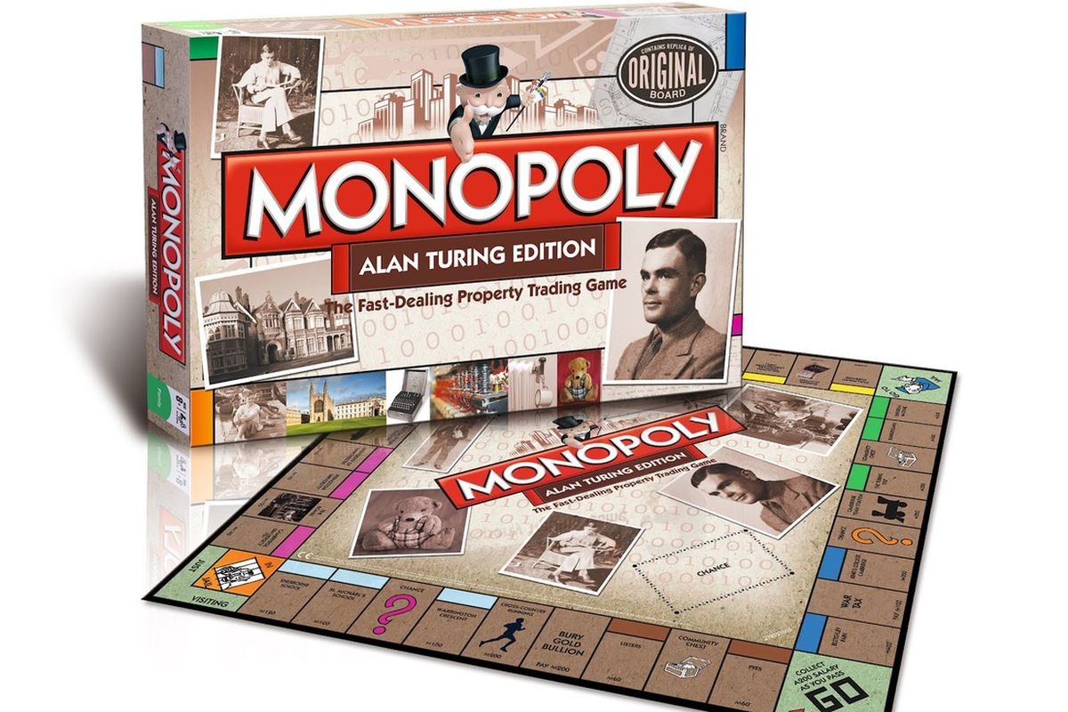 Monopoly Game Reddit Play Monopoly As Alan Turing Did With New Special Edition