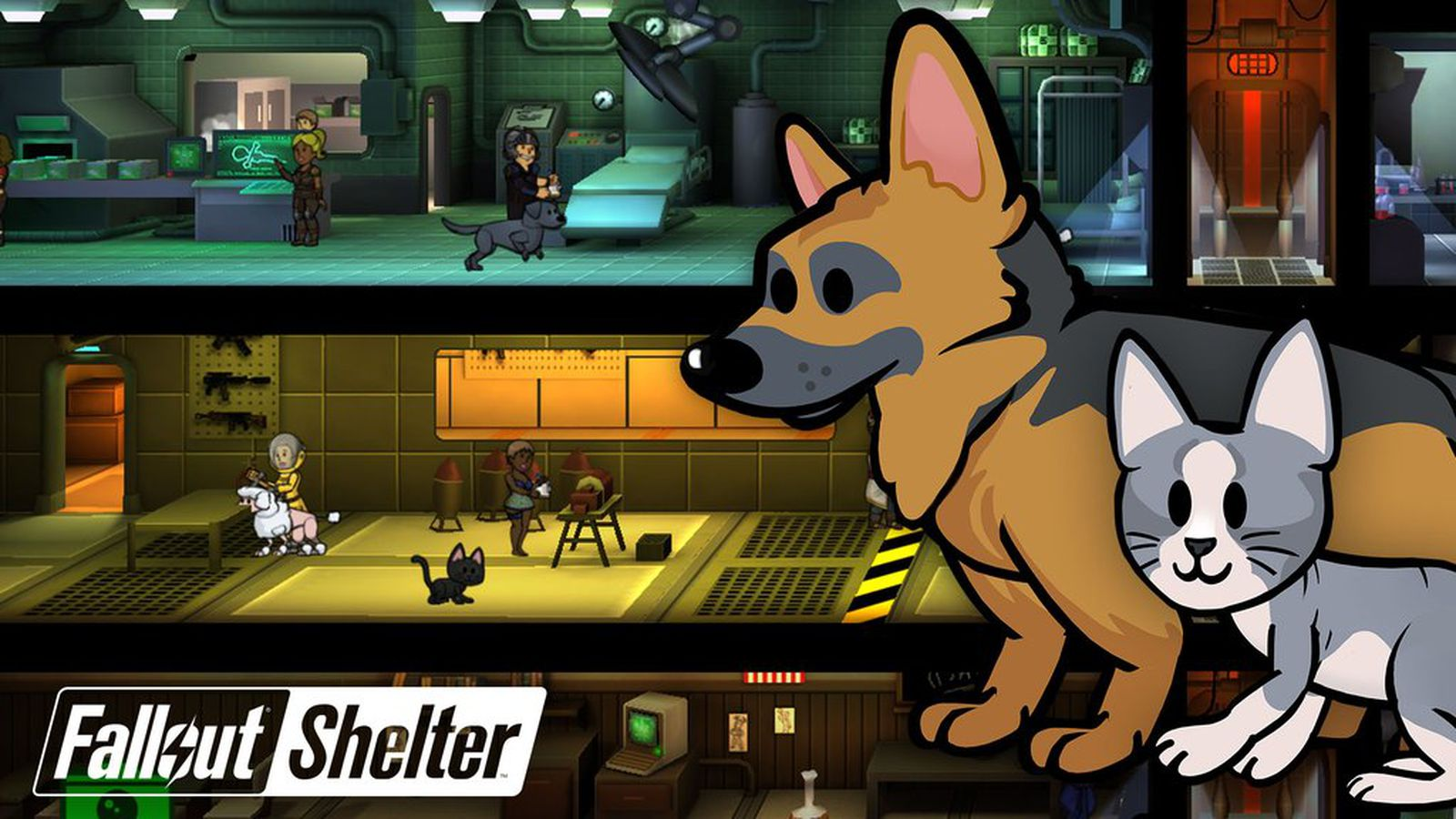 Fall Out Boy Wallpaper Phone Fallout Shelter Introduces Dogmeat And Other Pets To The