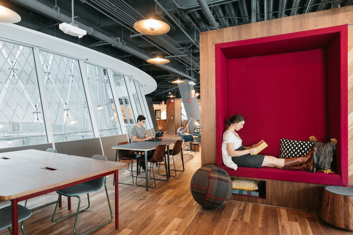 New York Industrial Works Wework Is Opening Gyms In Its Office Spaces Curbed