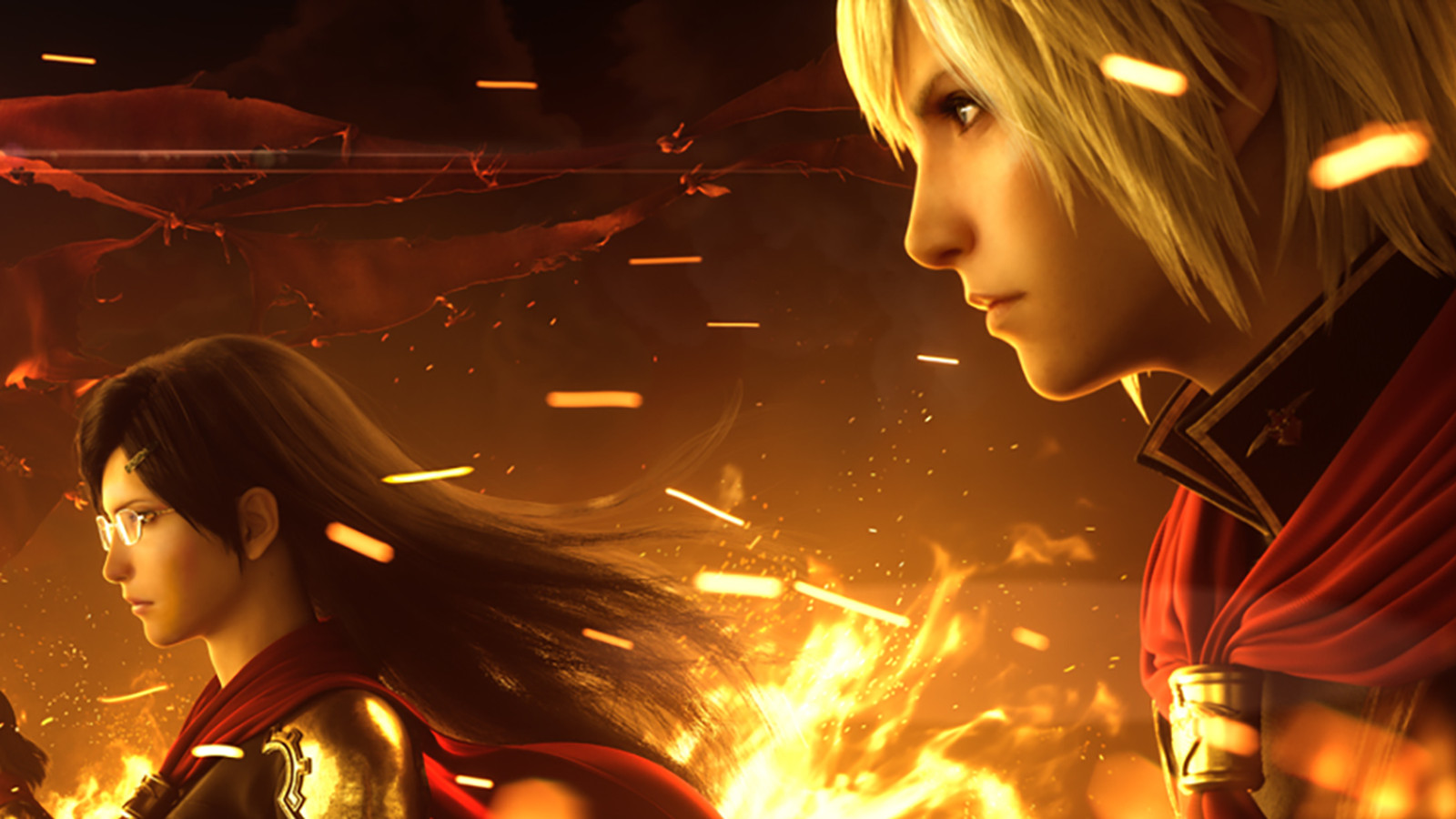 Anime Wallpaper For Ps Vita Final Fantasy Type 0 Hd Review Winds Of Change Polygon