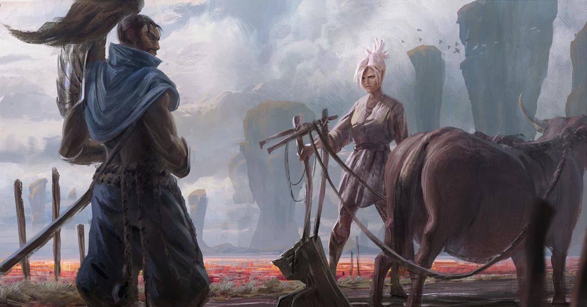 Sad Boy And Girl Full Hd Wallpaper Riven And Yasuo Have A New Story Together Update The