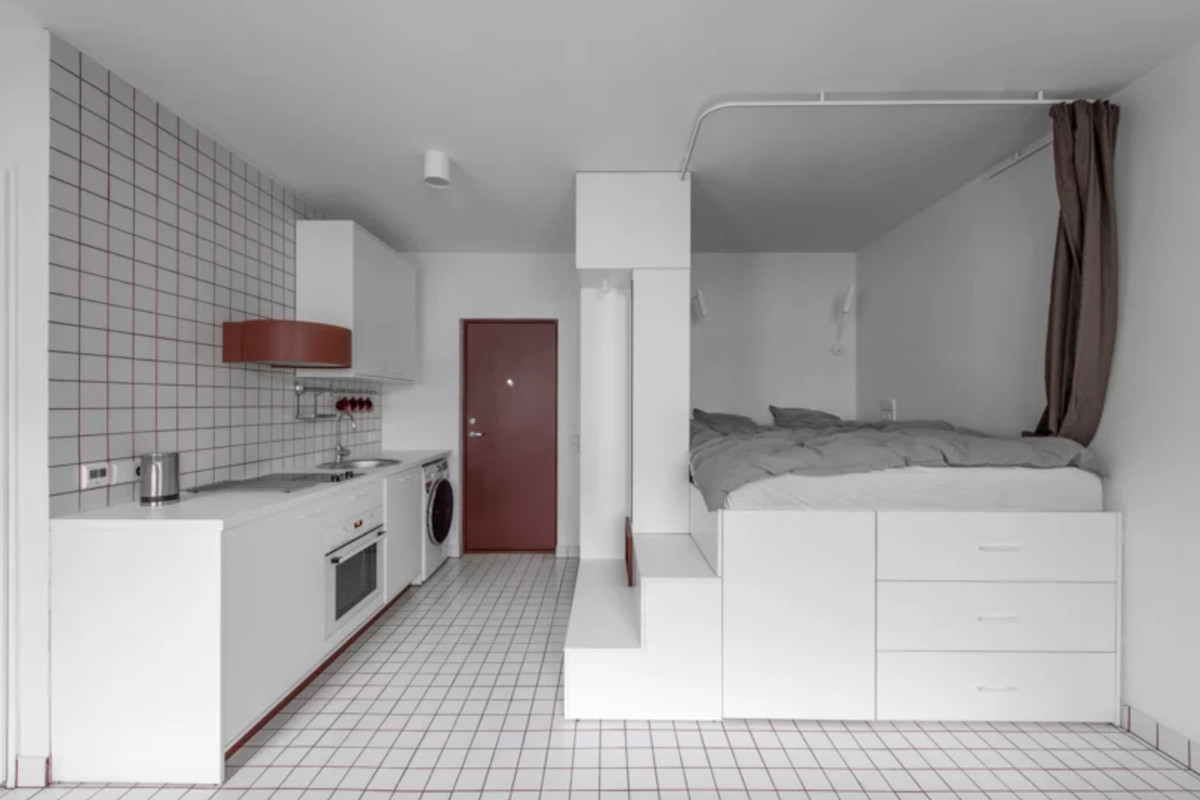 Micro Living Apartment Small Apartments Show How To Live Cozy In 270 Square Feet