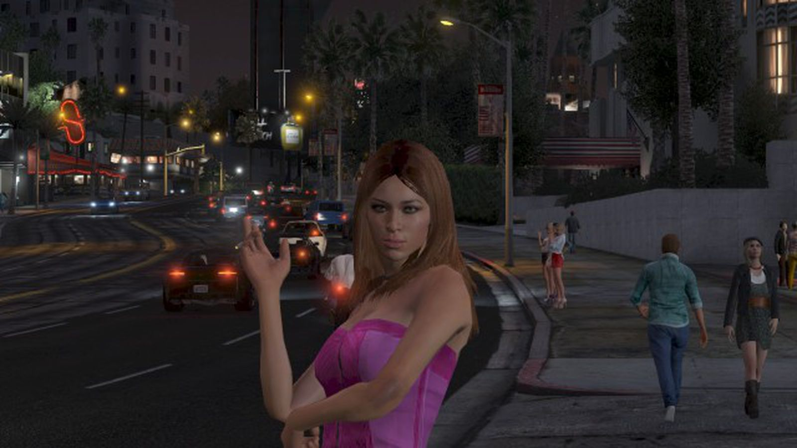 Very Bad Girl Wallpaper Grand Theft Auto 5 S Misogyny Is A Problem Its Creators