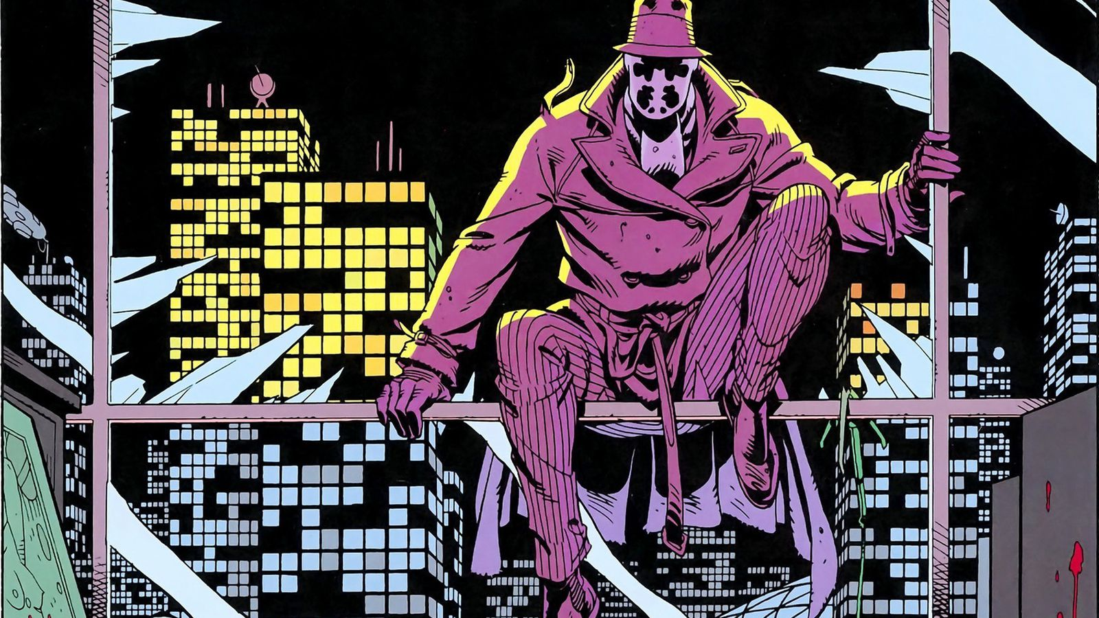 Superman Hd Wallpaper Dear Ted Cruz Rorschach Is Not A Hero Polygon