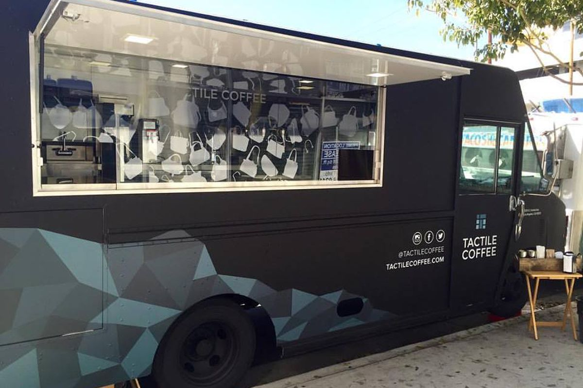 Alchemy Coffee Food Truck Tactile Coffee Is Downtowns Fantastic New Mobile Espresso