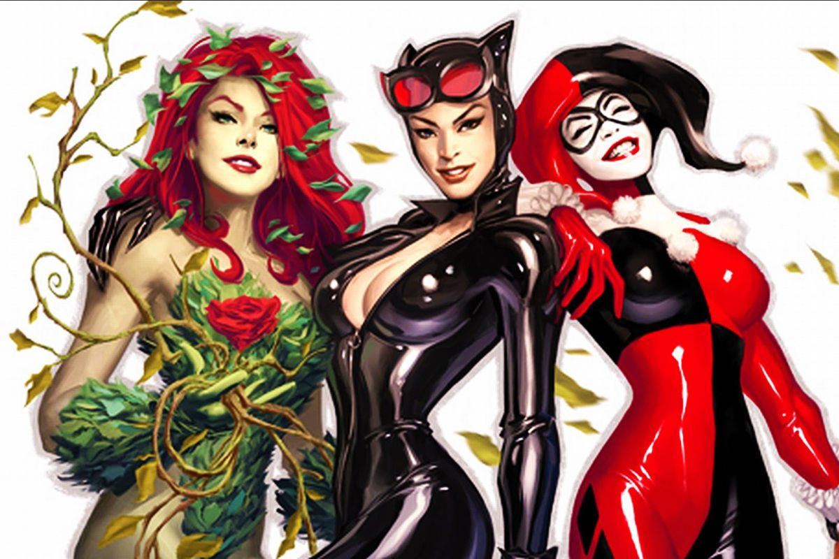 Anime Girl Wallpaper Hd Phones Harley Quinn S Spinoff Movie Is Called Gotham City Sirens