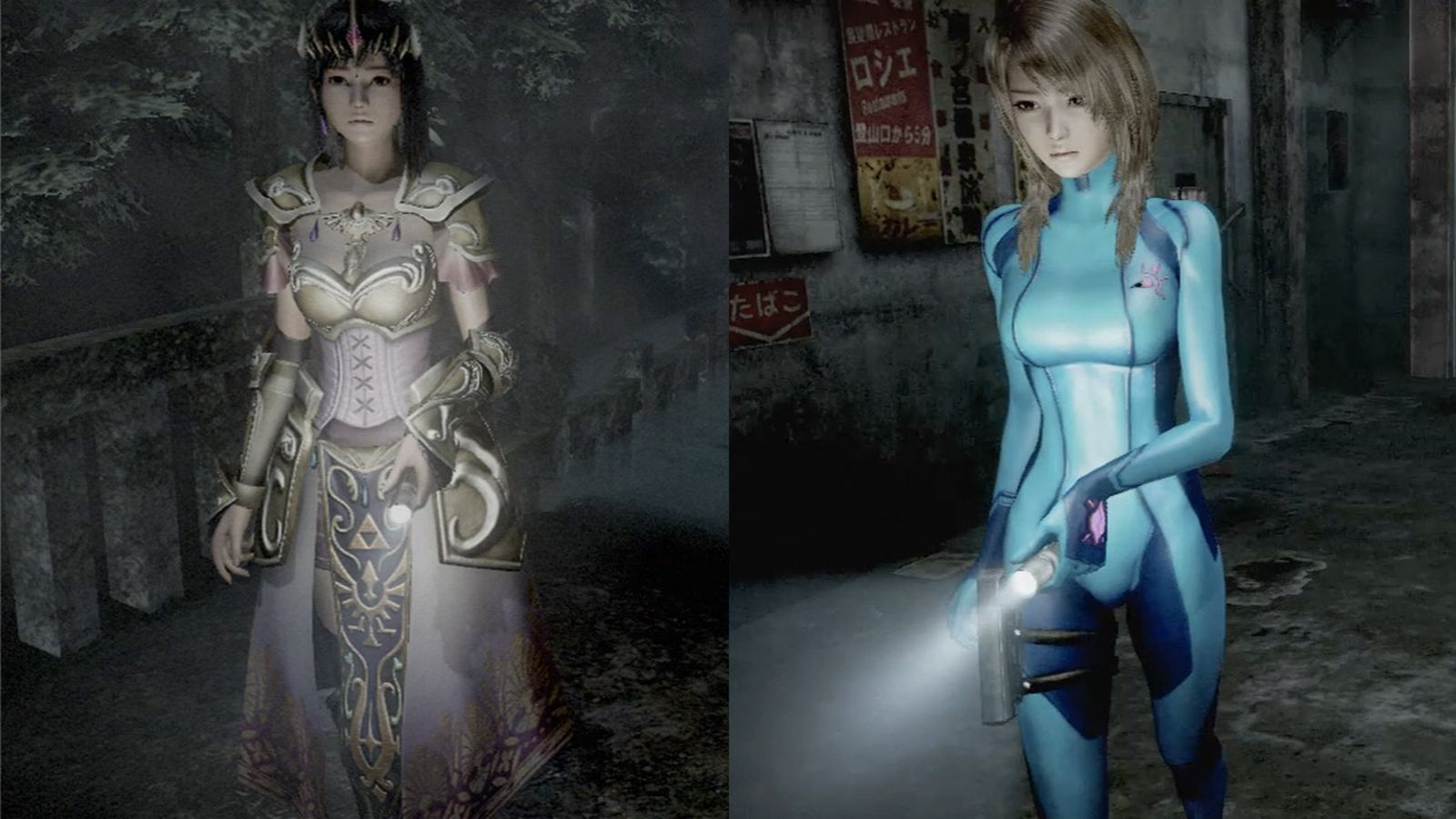 Girls In Lingerie Pc Wallpapeer Metroid And Zelda Costumes Coming To Fatal Frame For Wii U