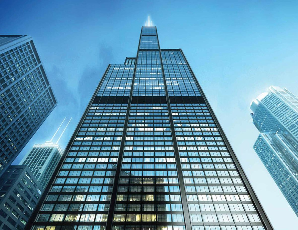 Images Of Willis Tower 500m Willis Tower Overhaul Is Well Underway Curbed Chicago