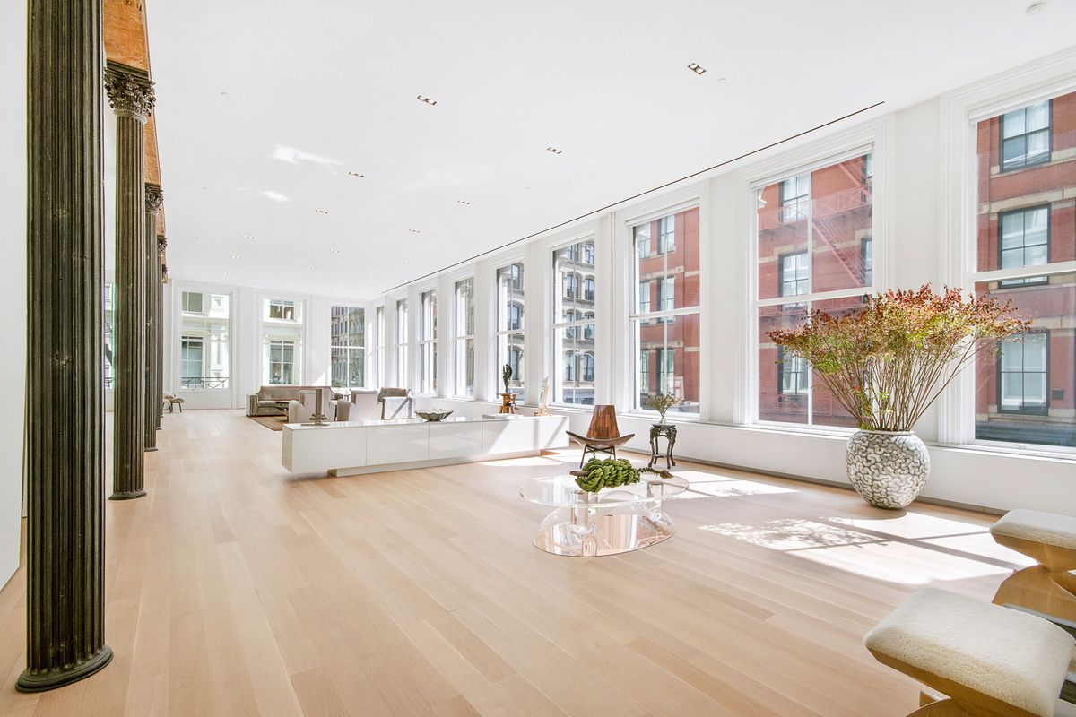 Big Loft Airy Soho Loft Featured In Big Sells For 9 75m Curbed Ny