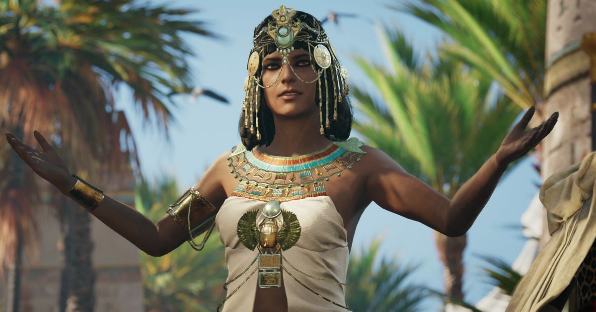 Modern Girl Wallpaper Download Assassin S Creed Origins Promiscuous Cleopatra Is Just