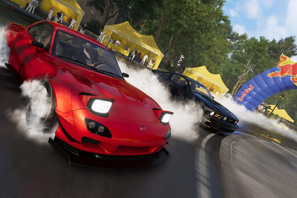 Police Car Lights Wallpaper The Crew 2 Is A Ton Of Fun Once You Pretend It S Irl Mario