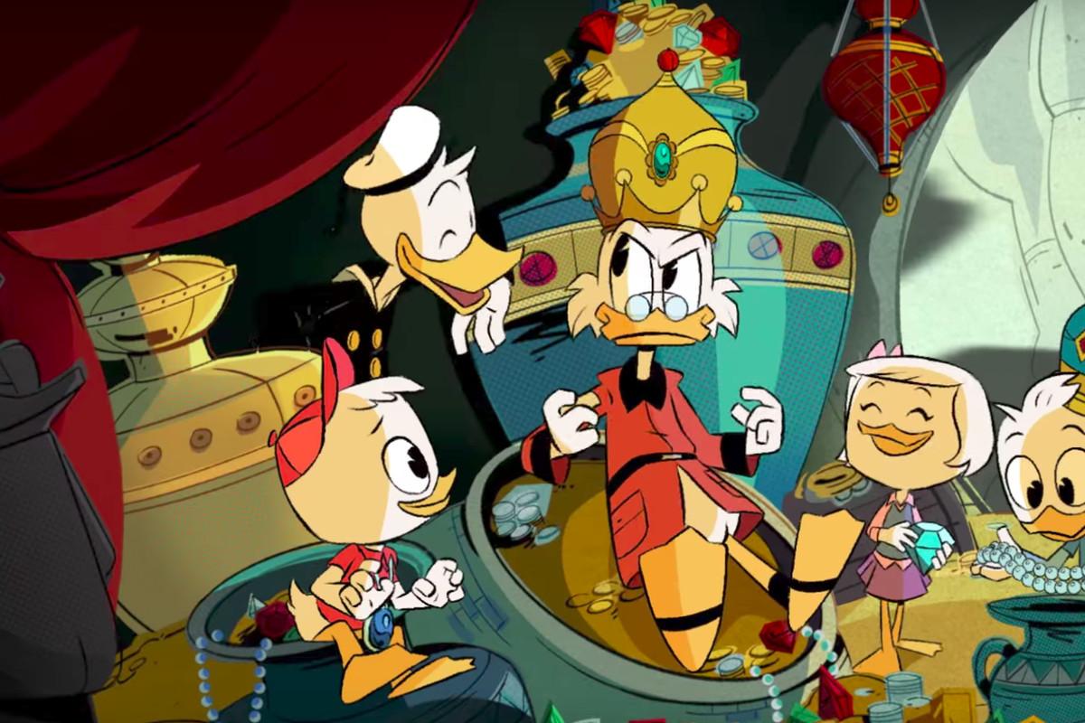 Screen Shot Wallpaper Gravity Falls In The New Ducktales Donald Duck Is The Louis C K Of