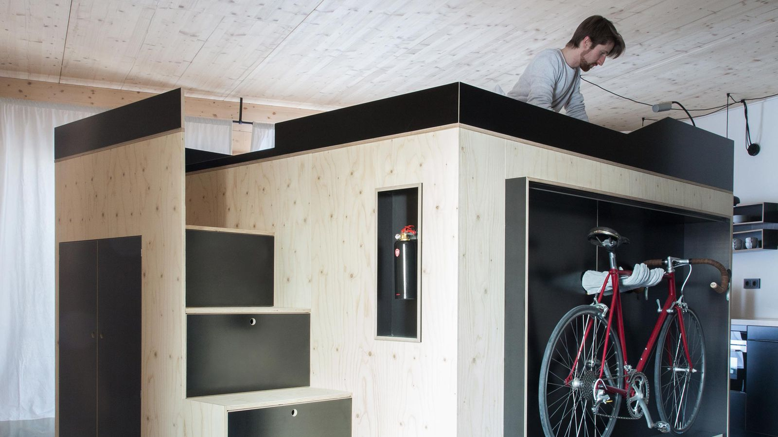 Micro Living Apartment All In One Furniture Cube Is Perfect For Micro Apartments