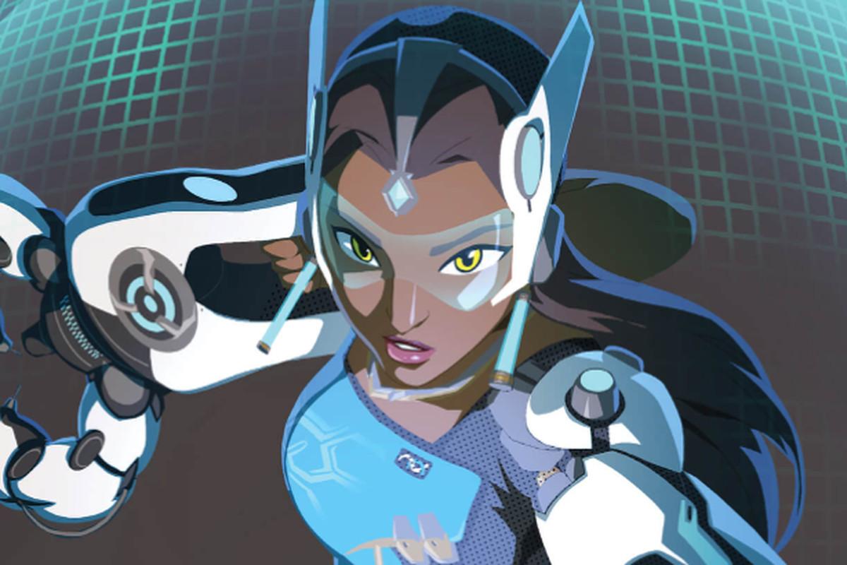 Fear Game Wallpaper Little Girl Overwatch Fan Theory About Symmetra Finally Confirmed By