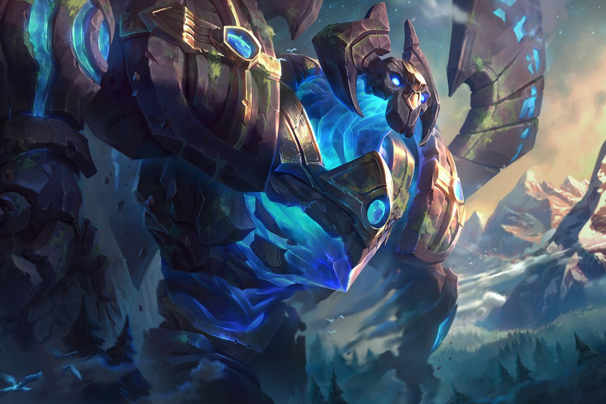 Infinity Sign Wallpaper Hd New Galio Skins And Splash Arts What They Look Like After