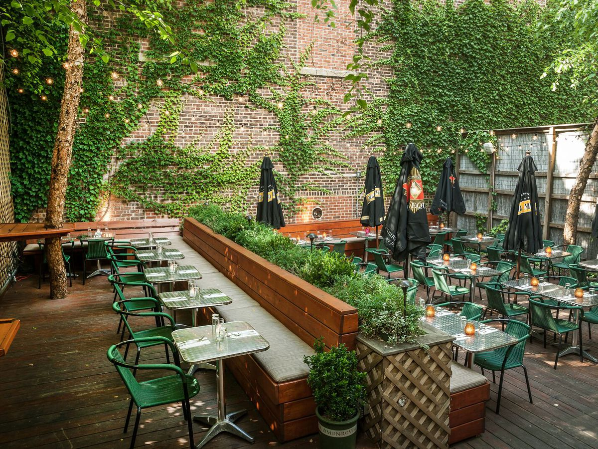 27 Top Outdoor Dining Spots In Nyc Eater Ny