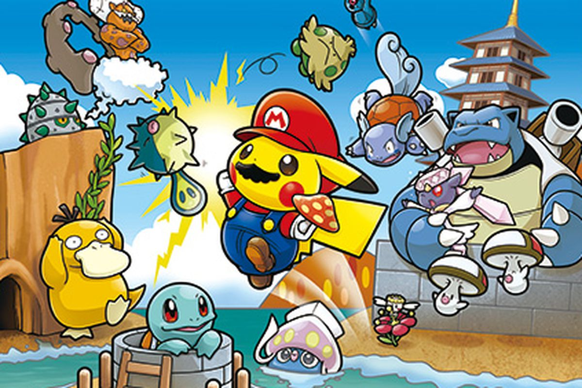Stores That Have 3d Wallpaper Mario Pikachu Is Undoubtedly The Best Pikachu The Verge