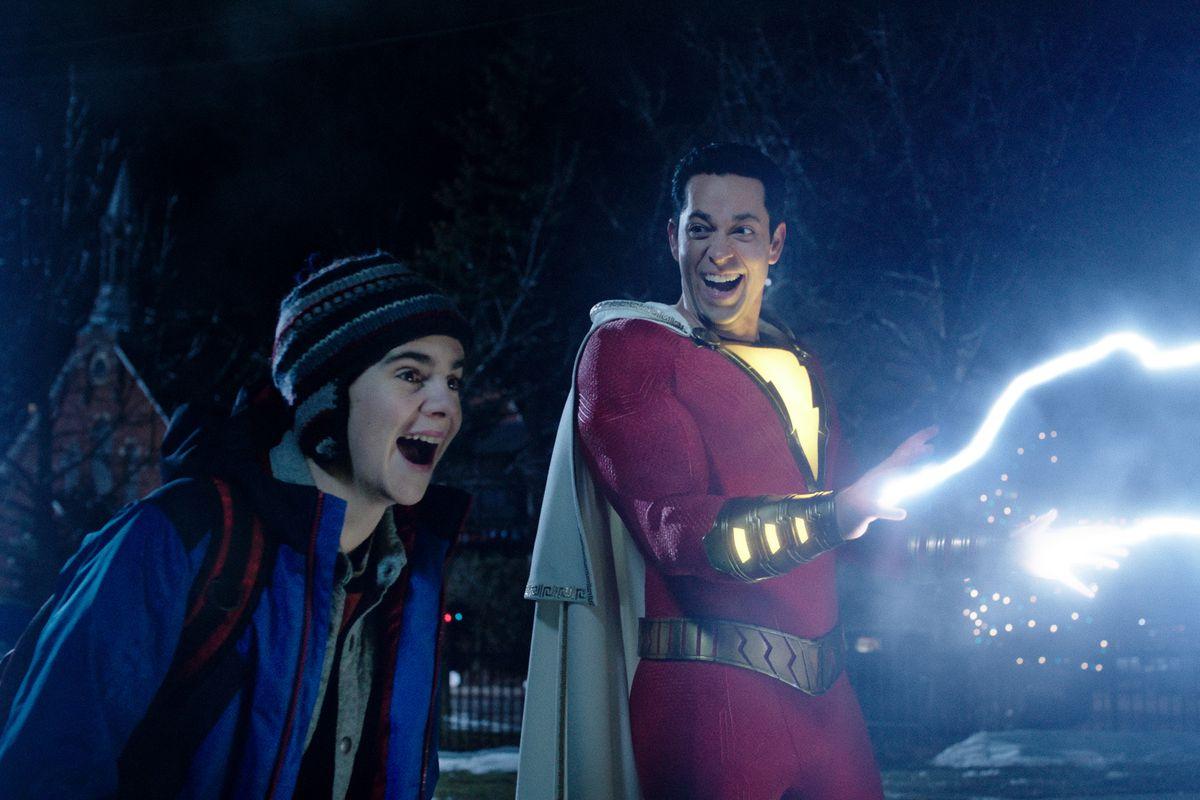 Justice League Hd Wallpaper Shazam Finally Lets Dc Superheroes Be Joyous Fun The Verge