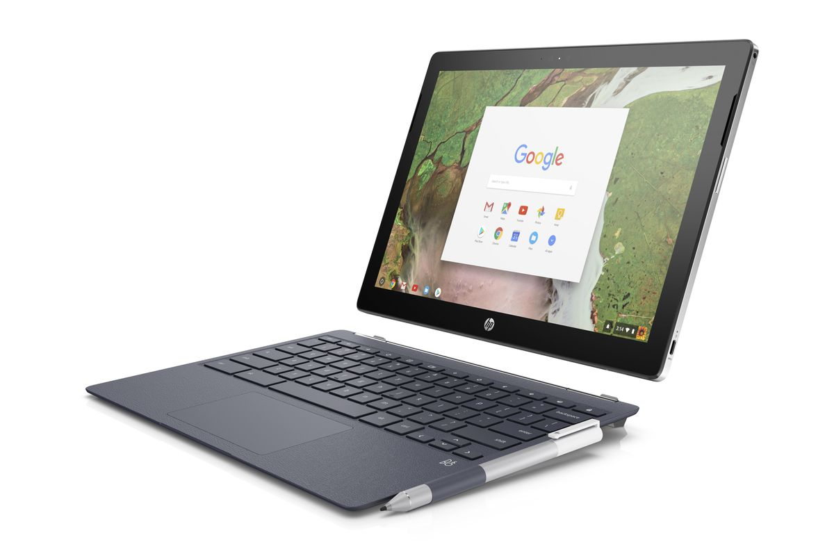 Hp Pc Kaufen Hp Goes Up Against The Ipad Pro With Its 599 Chromebook