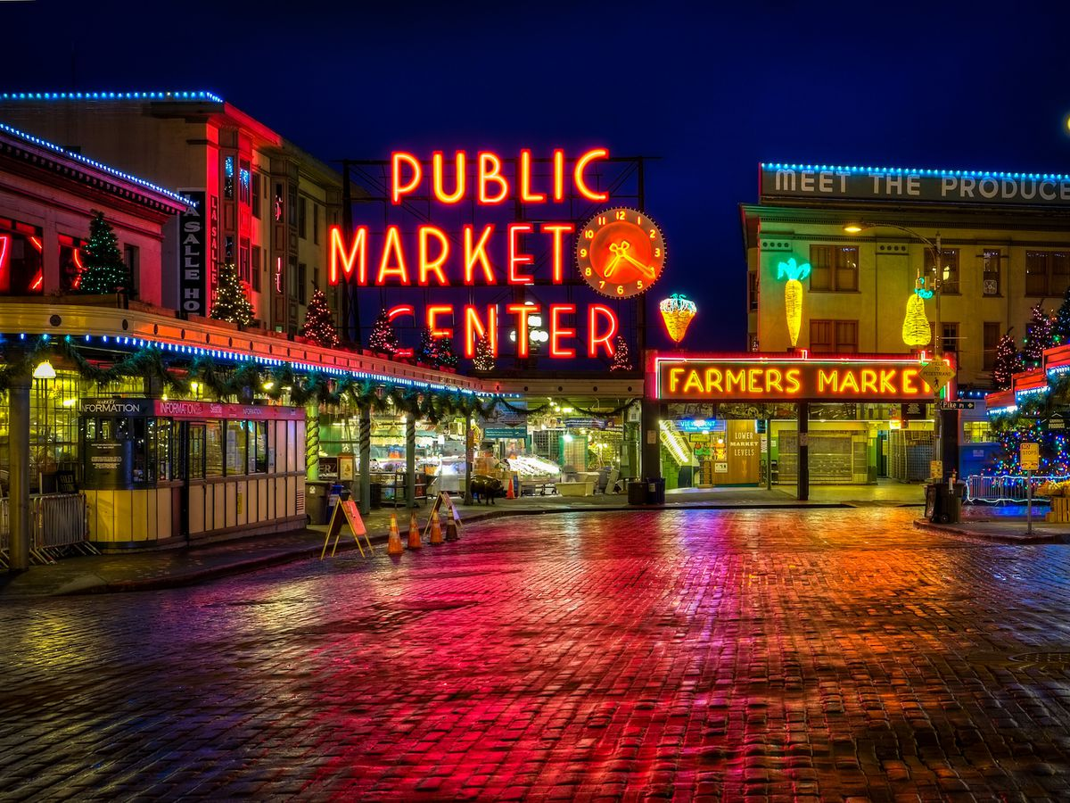 1920x1080 Fall Urban Wallpaper A Beginner S Guide To Pike Place Market Eater Seattle