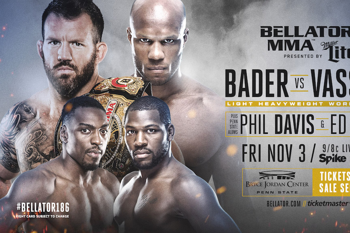 Baeder Vs Bellator 186 Results Live 39bader Vs Vassell 39 Streaming
