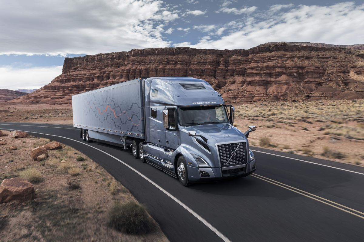 longhaul truck driver