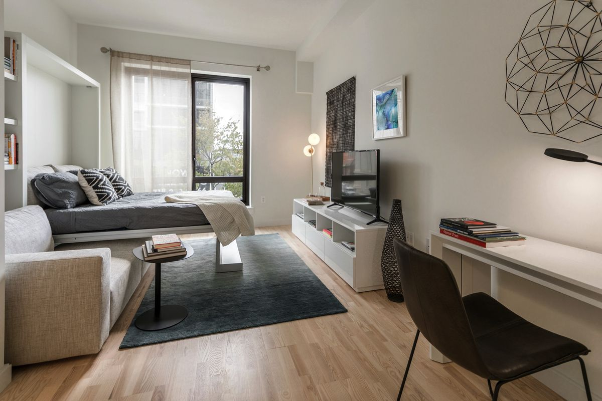 Small Nyc Apartment Design Nyc Micro Apartments Curbed Ny