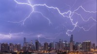A look at last nights wild lightning storm - Curbed Chicago