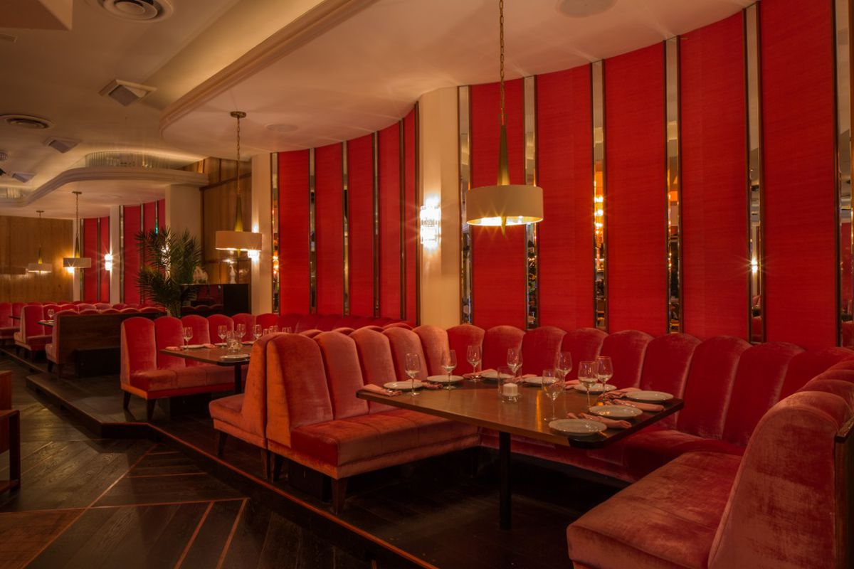 Modern Couches Delilah Revives The Modern Supper Club In West Hollywood