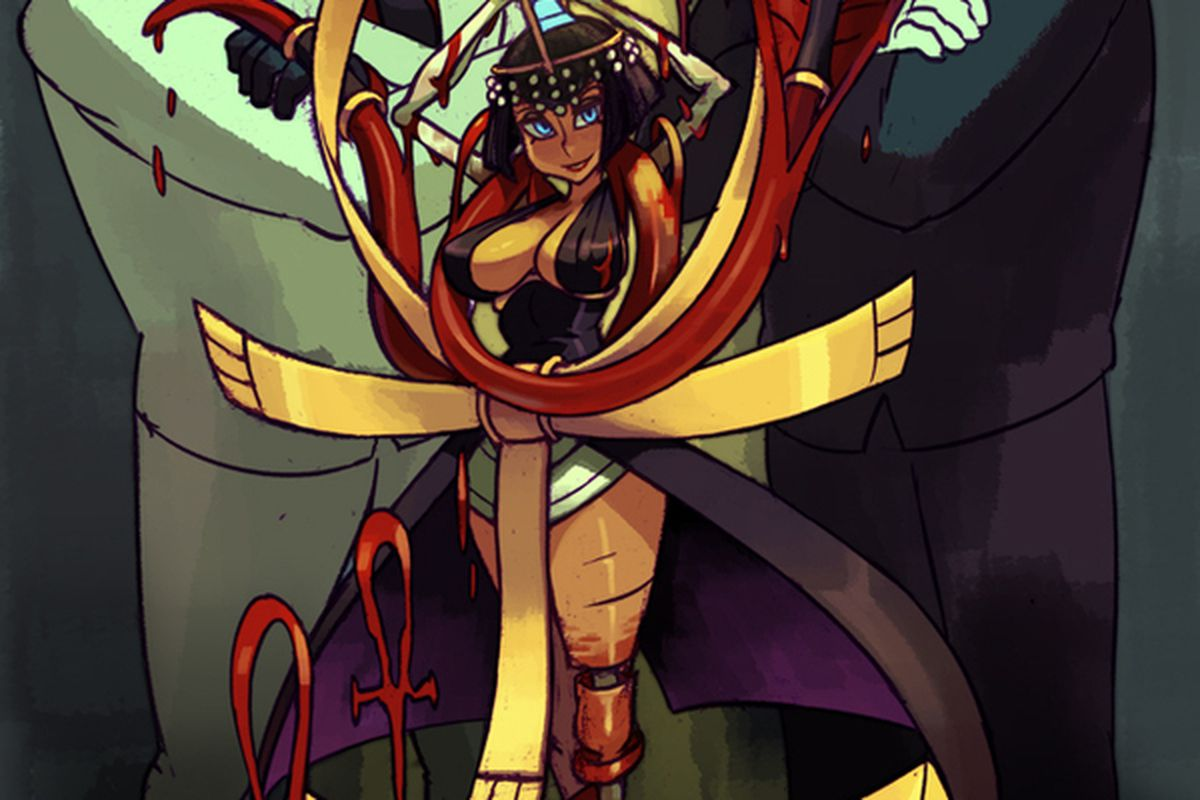 Persona 5 Girls Wallpaper Skullgirls Fourth Dlc Character Is Blood Controlling Eliza
