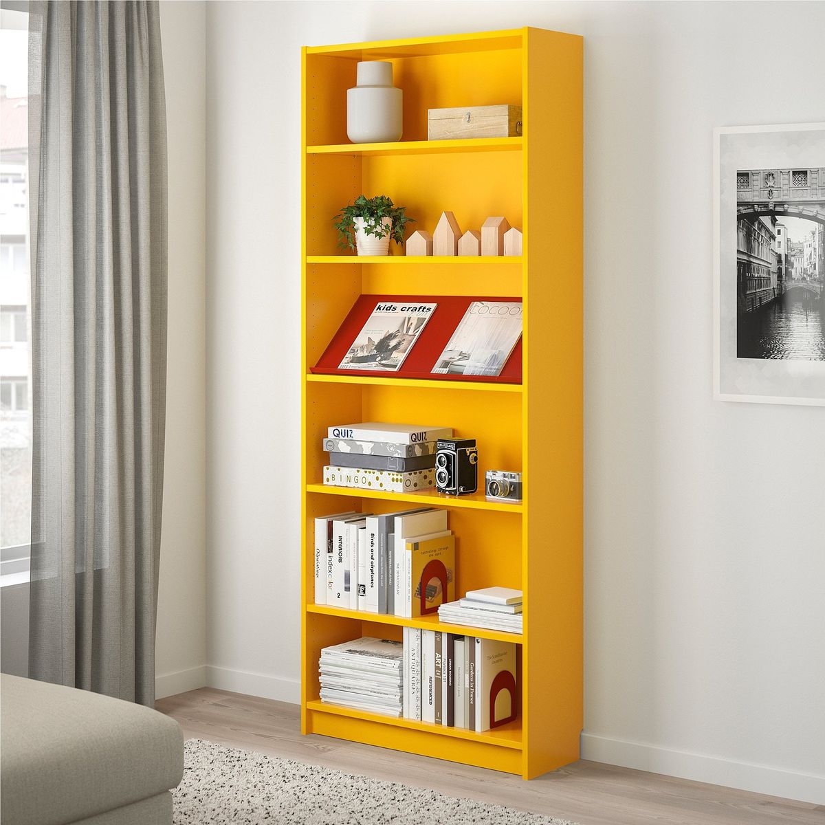 Ikea Billy Yellow Spring Furniture And Decor Best Yellow Finds Curbed
