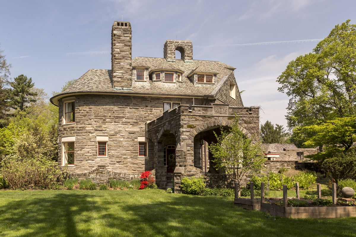Stone Farmhouse For Sale Pa Grand Stone Home In Chestnut Hill From 1890 Asks 995k