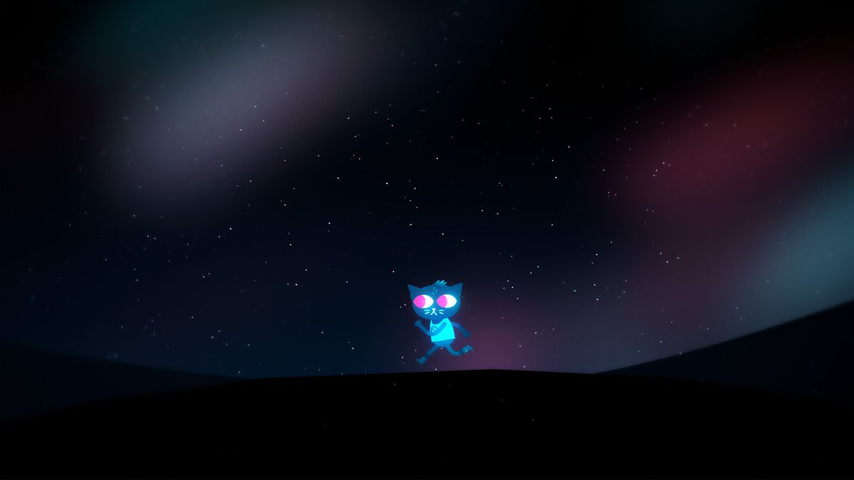 Fall Town Wallpaper Night In The Woods Review Polygon