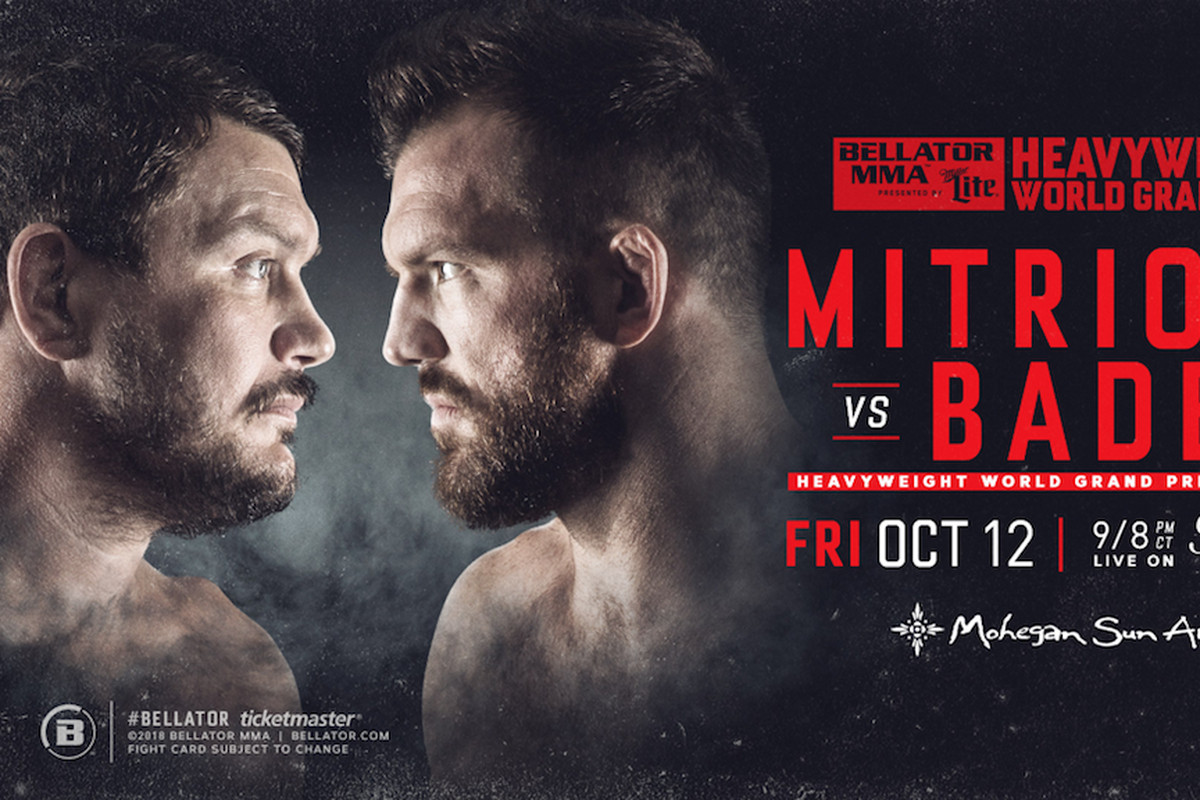 Baeder Vs Bellator 207 Mitrione Vs Bader Goes Down At Mohegan Sun