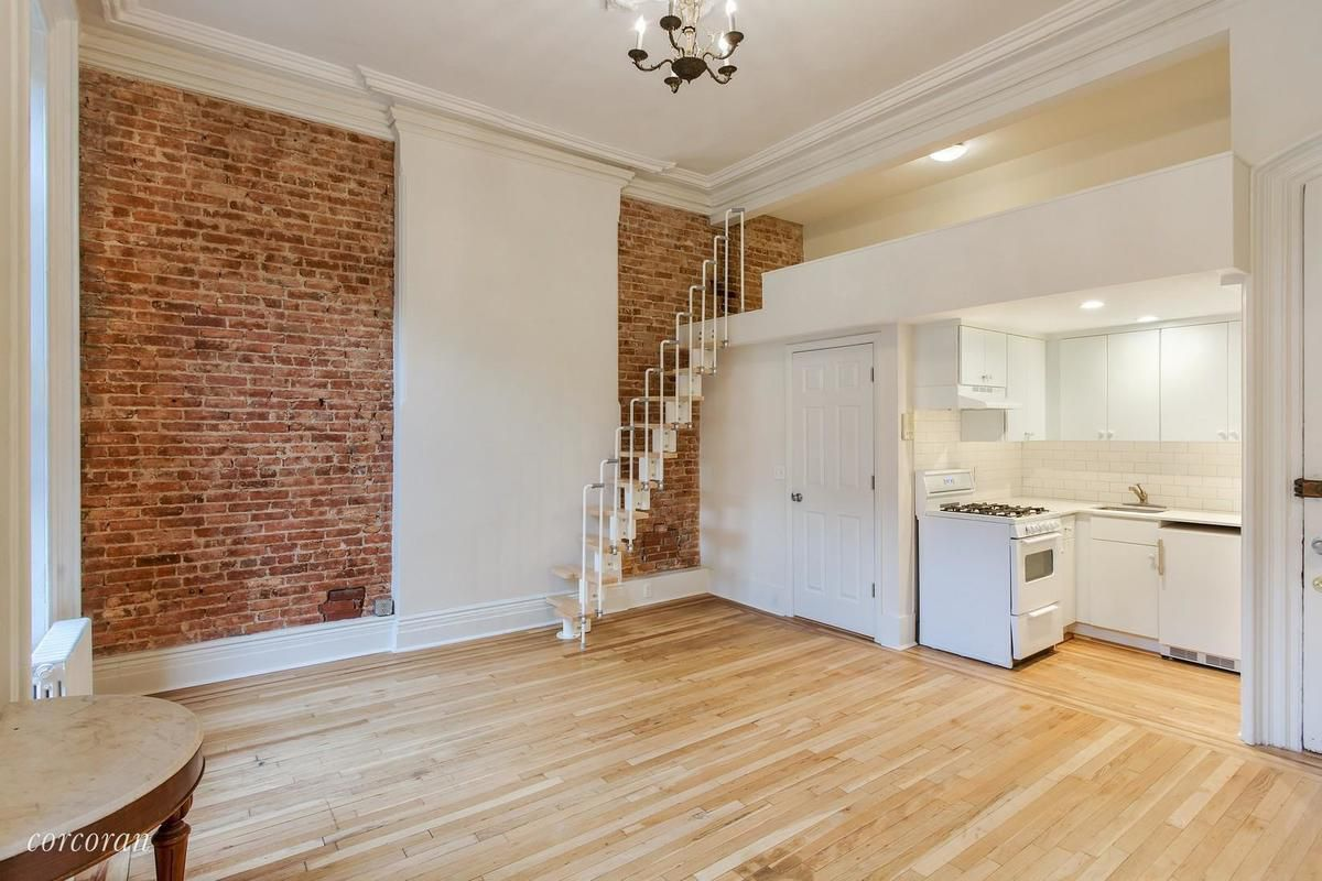 Loft Bed For Studio Apartment Tiny Park Slope Studio With Loft Bed Seeks 399k Curbed Ny