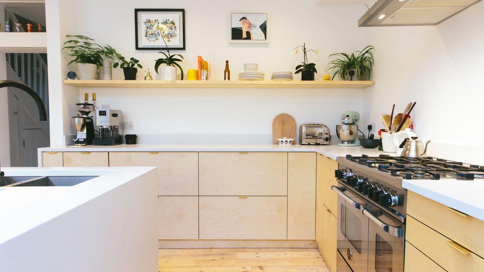 Witte maden in keuken moderne houten keukens van jp walker